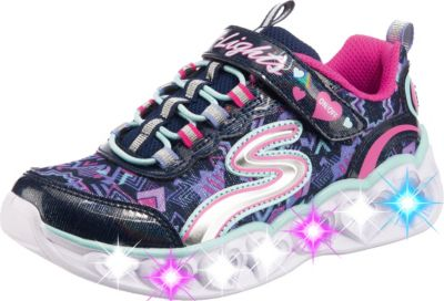 skechers heart lights